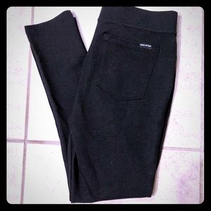 DKNY Black Ponte Legging